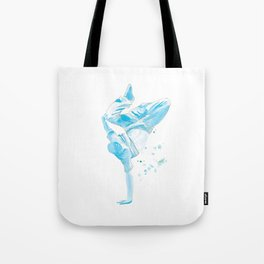 The Breakdancer Tote Bag