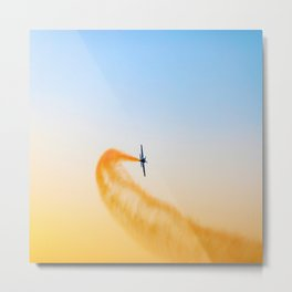 aeroplane airplane Metal Print