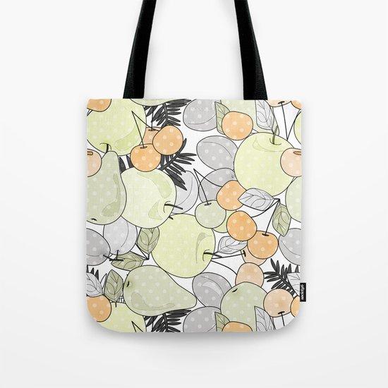Fruit market . Retro . Tote Bag