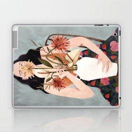 Hilda with vase Laptop & iPad Skin