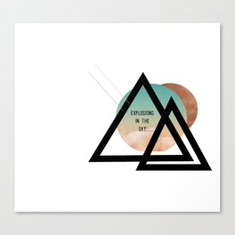 explosions in the sky Canvas Print