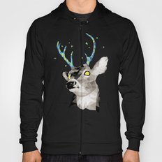 Geosafari | Deer (White) Hoody