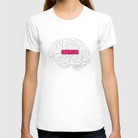 brain T-shirts featuring Brain by AMOSLIDE
