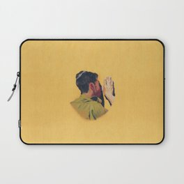 Untitled (soldier, gold) Laptop Sleeve