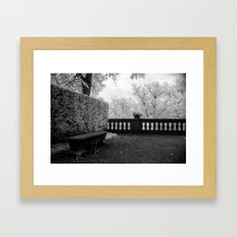 Park Bench II Framed Art Print
