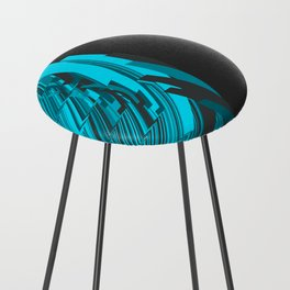 Weird Abstraction Counter Stool