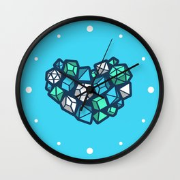 Heart of a Dungeon Master Wall Clock