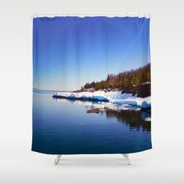 Presque Isle Shower Curtain