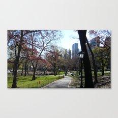 November in NY Canvas Print