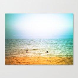 In the sea. Canvas Print