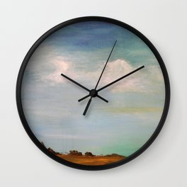 Wide Open Spaces Wall Clock