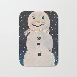 Little Snowman Bath Mat