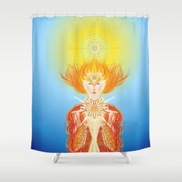 Paradise is within you... Shower Curtain