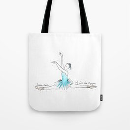 Swan Lake Ballerina Tote Bag