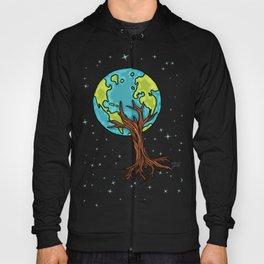 SPACE EARTH TREE Hoody