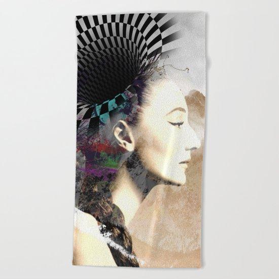 Women 8 Beach Towel
