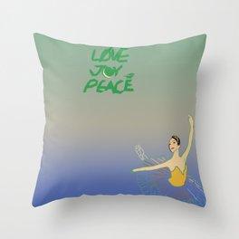 Dancer & the Moon Throw Pillow
