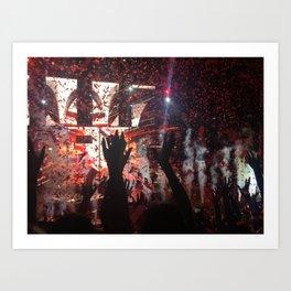 top show  Art Print