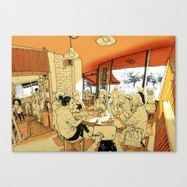 Tivoli cafe Canvas Print