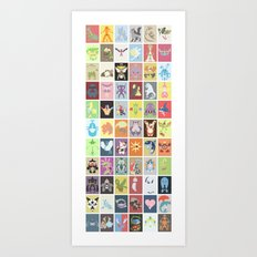 Pocket Monster of Hoenn Art Print