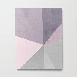 Desert Rose Palette Metal Print