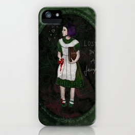 Lost in a fairytale iPhone Case