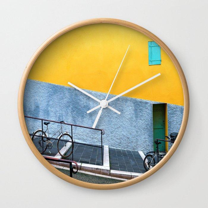 Vieux Nice Color Pop Wall Clock