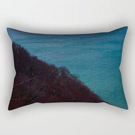 Half half Rectangular Pillow
