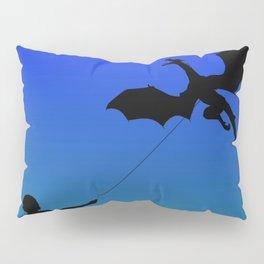Magical Dragon Dragon (blue green) Pillow Sham