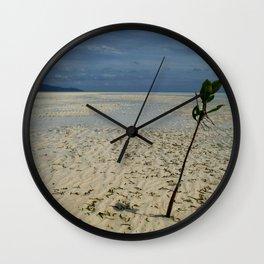 Palawan Plant Wall Clock