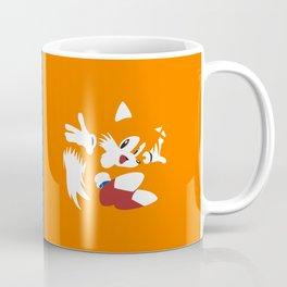 Minimal Sonic & Tails Coffee Mug