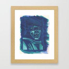 The Wolf Man Framed Art Print