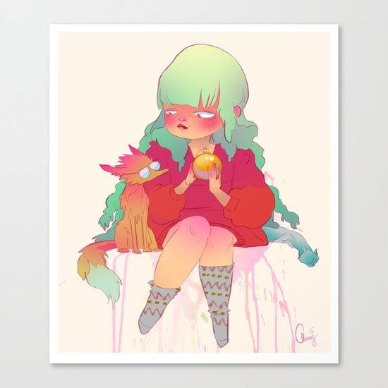 Holiday treat Canvas Print