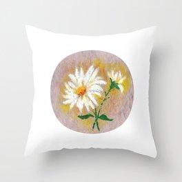 Flor VII (Flower VII) Throw Pillow