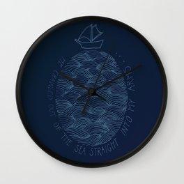 Seascape/Marling Wall Clock