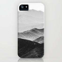 Smoky Mountain iPhone Case