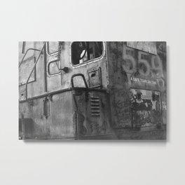 Missed Train Metal Print