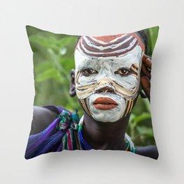 Suri River Throw Pillow
