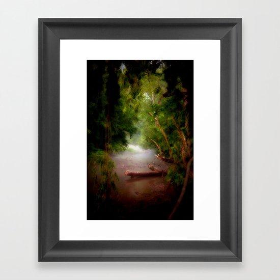 Mystic Creek Framed Art Print