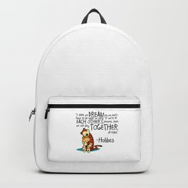 calvin and hobbes Backpack