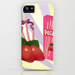 Ichigo Pocky iPhone Case