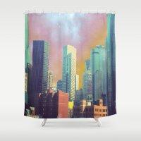dallas Shower Curtains featuring Dallas Ya'll by Lynsey Ledray