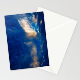 Glowing Acrylic Clouds Stationery Cards