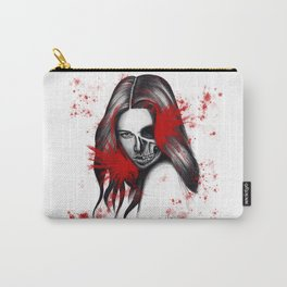The half-demon half-angel woman V2 Carry-All Pouch
