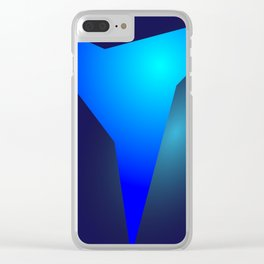 the blue ever Clear iPhone Case