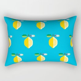 Fruit: Lemon Rectangular Pillow