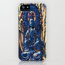 Glass temple of Marcy  iPhone Case