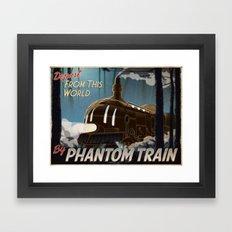 Final Fantasy VI - Come Ride the Phantom Train Framed Art Print