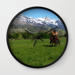 Ride On Ride On! Wall Clock