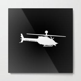 OH-58 Kiowa Metal Print
